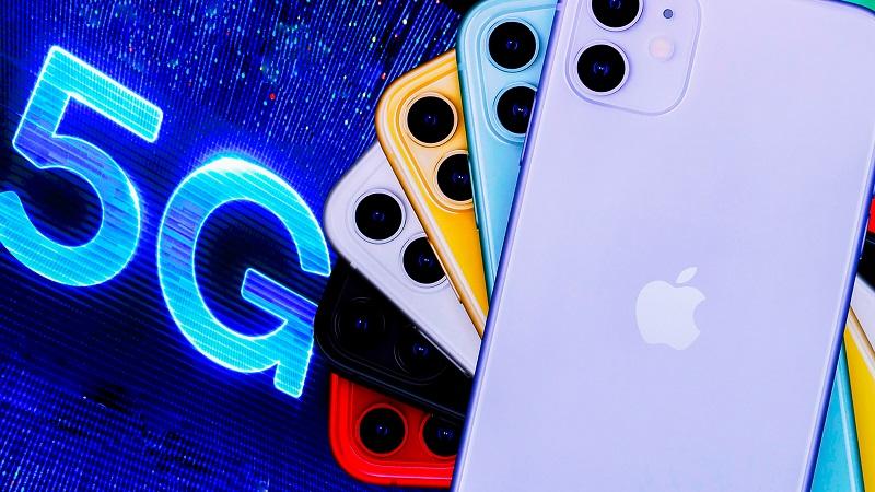các chuyên gia đánh giá Apple sẽ dẫn đầu thị phần smartphone 5G trong năm sau