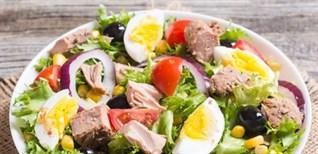 3 công thức làm salad cá ngừ cực đơn giản giàu dinh dưỡng làm nhanh