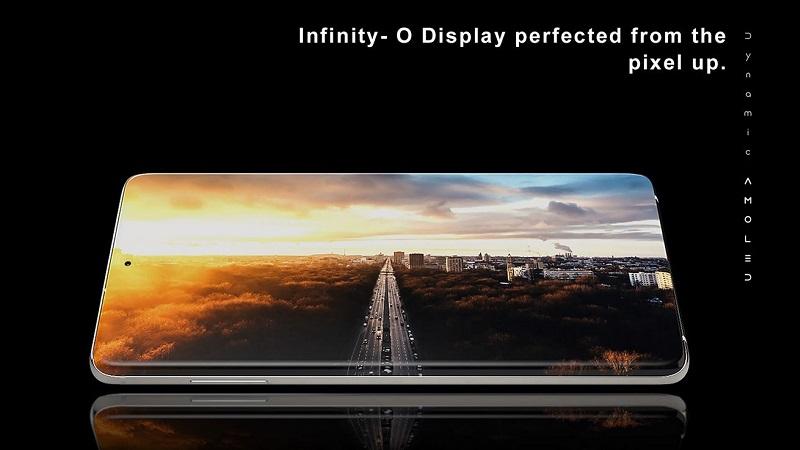 Dòng Galaxy S11 lộ ảnh render với thiết kế màn hình kiểu thác nước, phần đục lỗ nhỏ gọn hơn