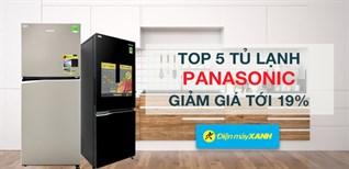 Tủ lạnh Panasonic đồng loạt giảm đến 19% từ 18 - 21/11