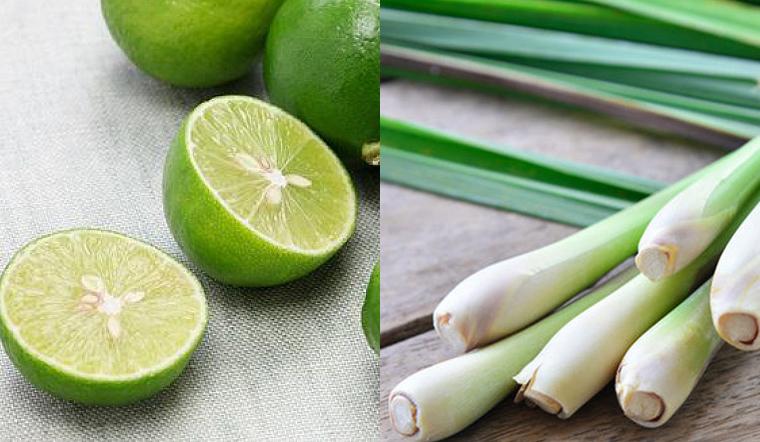 Phương pháp khử sạch mùi bằng chanh và sả