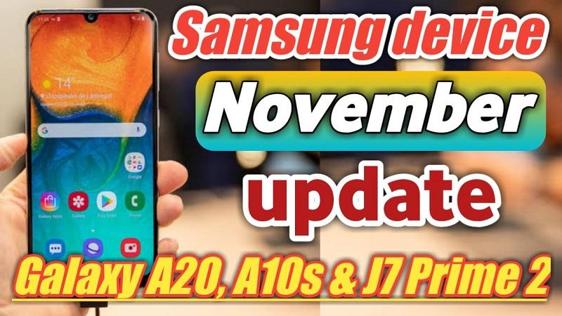 Samsung Galaxy A10s nhận bản vá bảo mật tháng 11/2019, sửa lỗi loạn cảm ứng màn hình