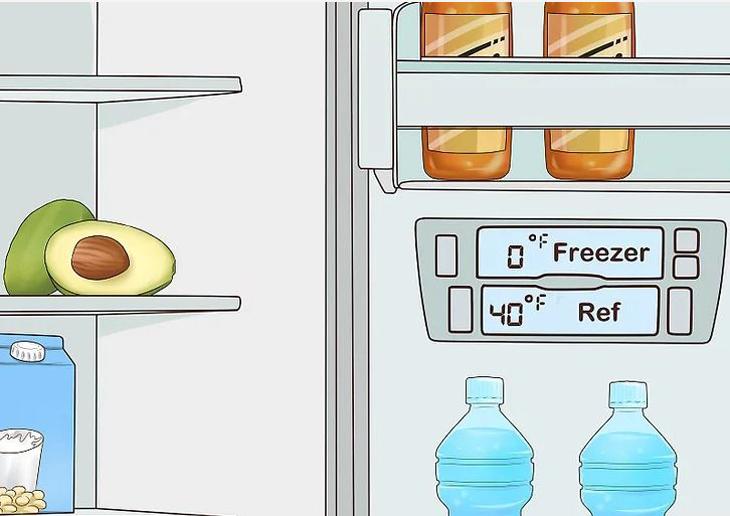 Kiểm tra nhiệt độ bên trong tủ