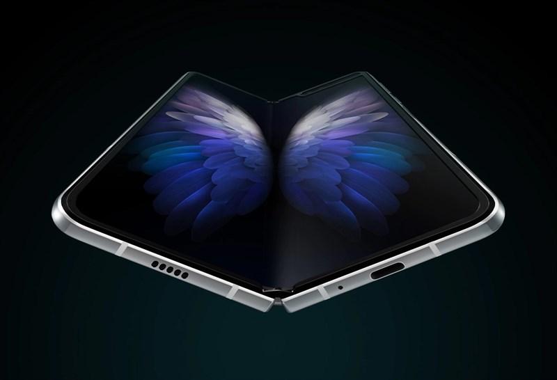 Samsung W20 khi ở trạng thái mở ra