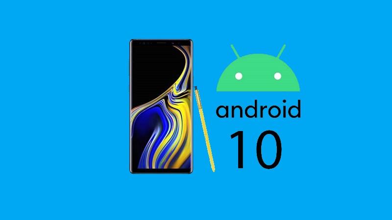 Galaxy Note 9 bắt đầu được cập nhật One UI 2 beta dựa trên Android 10