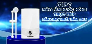 Top 7 máy tắm nước nóng trực tiếp bán chạy nhất Điện máy XANH năm 2019