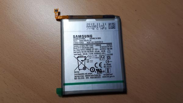 Viên pin cho Galaxy A71 được sản xuất ở Ấn Độ