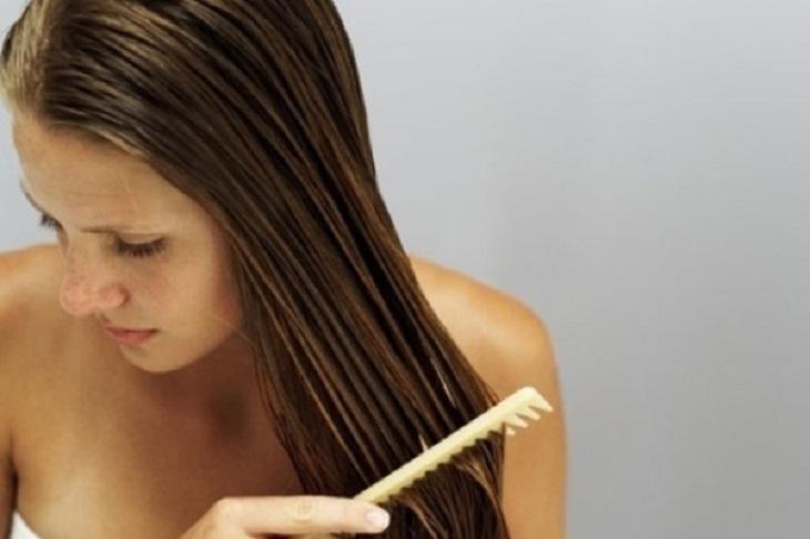 Chải từ chân đến ngọn tóc