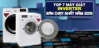 Top 7 máy giặt inverter bán chạy nhất Điện máy XANH năm 2019