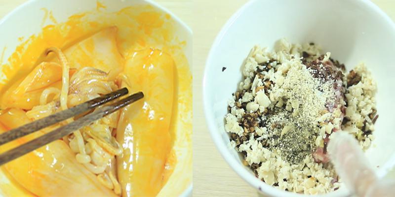 Cách làm mực nhồi thịt hấp mềm ngon, ăn là mê liền