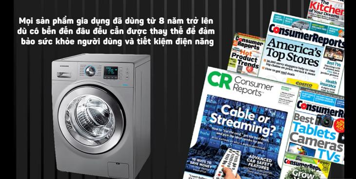 4 dấu hiệu cho biết máy giặt nhà bạn cần thay mới