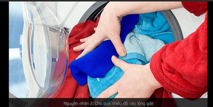 Hãy giảm bớt lượng đồ giặt