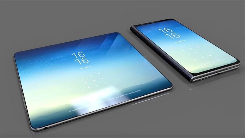 Samsung đang phát triển 1 chiếc tablet màn hình gập và đây là kiểu dáng của nó