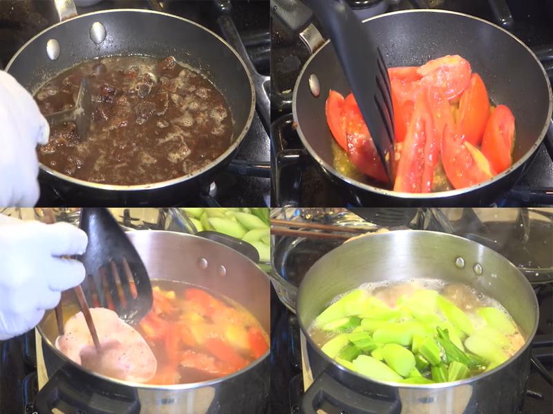 Cách nấu canh chua dọc mùng thanh mát, ngon tuyệt cú mèo