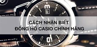 Cách nhận biết đồng hồ Casio chính hãng thông qua Tem chống giả