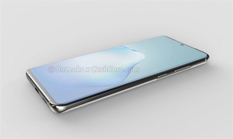 Galaxy S11 Plus có màn hình đục lỗ