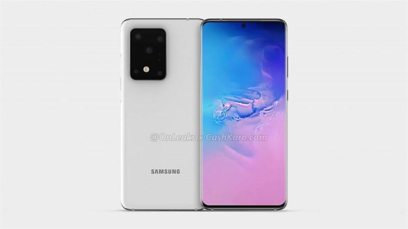 Samsung Galaxy S11 Plus lộ ảnh render với 5 camera sau rất hầm hố