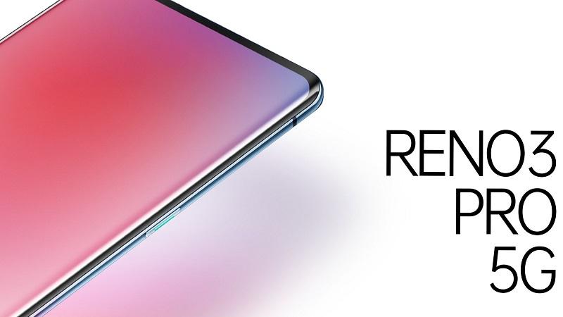 OPPO Reno3 Pro 5G bất ngờ xuất hiện với màn hình cong tràn hai cạnh