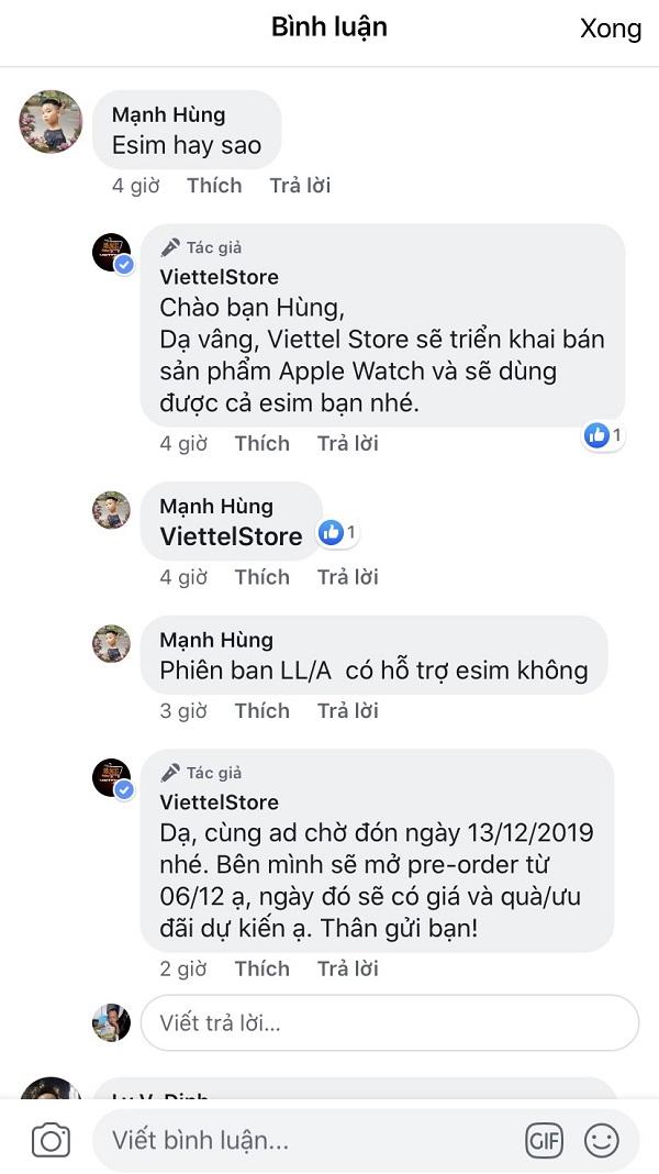 Apple Watch tại Việt Nam sắp sửa hỗ trợ eSIM để nghe gọi, kết nối 4G như smartphone