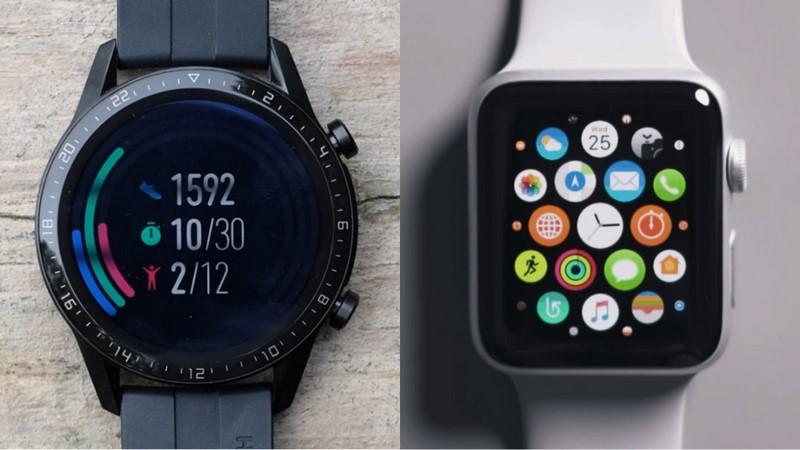 Huawei Watch GT2 vs Apple Watch S3