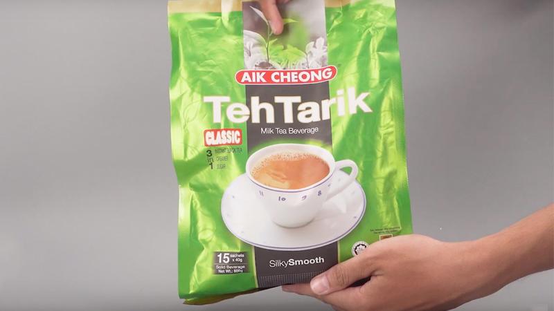 Ngọt ngào hương vị trà sữa Malaysia với Aik Cheong TehTarik Classic 3 trong 1