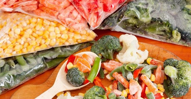 Thịt và rau quả