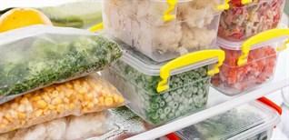 20 loại thực phẩm có thể trữ lâu trong ngăn đông tủ lạnh bạn chưa biết