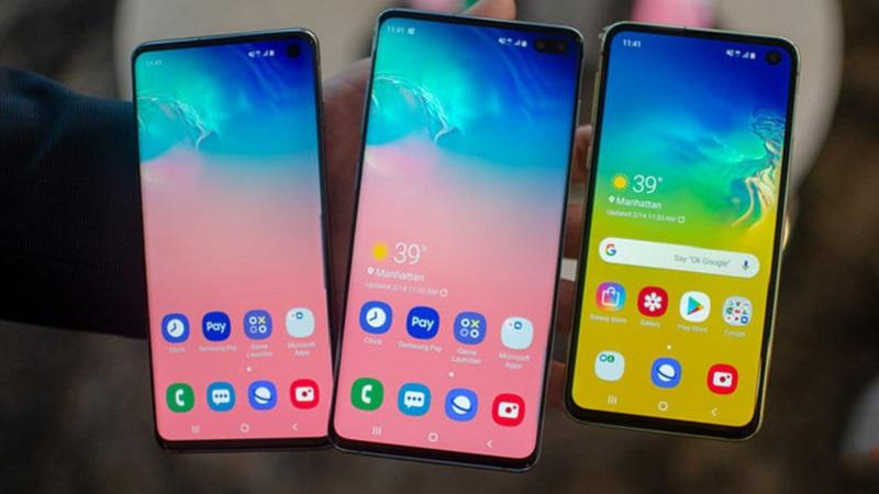 Samsung Galaxy S10, S10+ và S10e