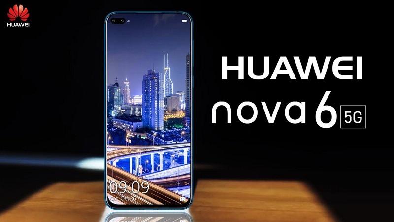 Huawei Nova 6 và Nova 6 5G lộ tất tần tật thông số cấu hình trước ngày ra mắt