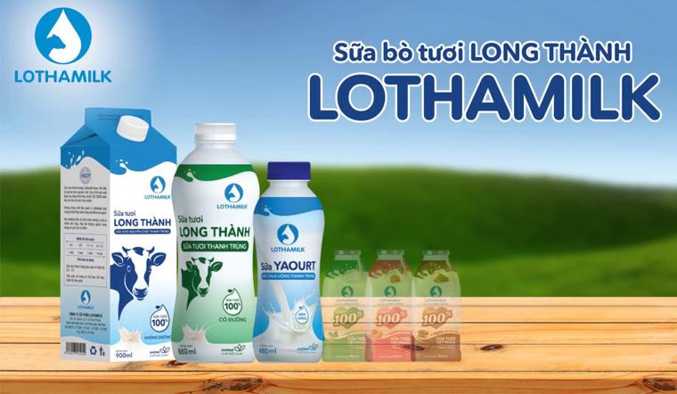 Lothamilk - Sữa Long Thành trứ danh, thơm ngon béo ngậy