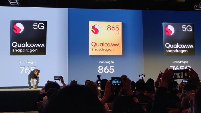 Snapdragon 865, Snapdragon 765 và 765G ra mắt, tất cả đều hỗ trợ mạng 5G