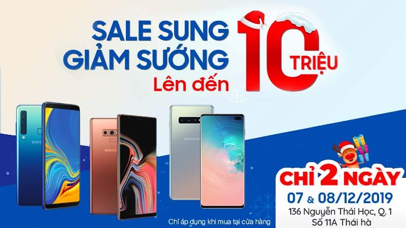 Điện thoại Samsung giảm sốc