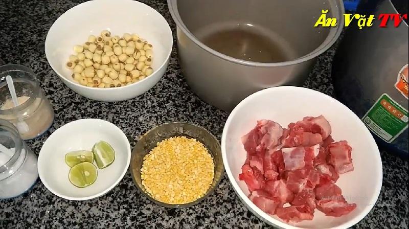 Cách nấu cháo sườn bằng nồi cơm điện vừa đơn giản lại nhanh