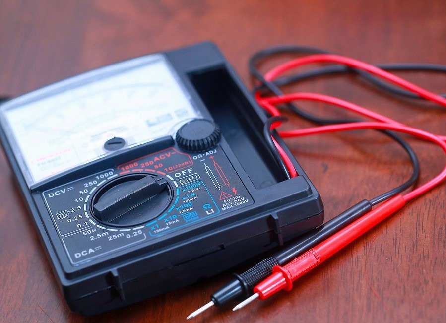 Dùng đồng hồ đo điện vạn năng
