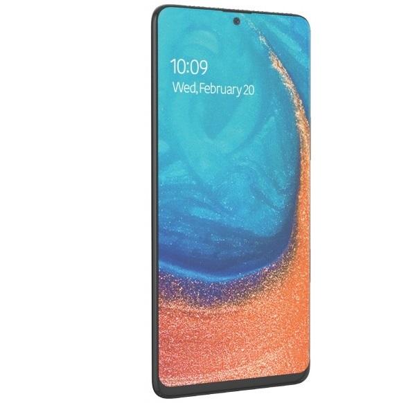 Samsung Galaxy A71 lộ ảnh render với thiết kế ấn tượng, đẹp như Galaxy Note 10