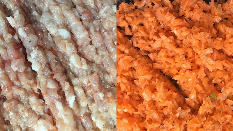 Chị Loan chia sẻ cách làm thịt heo cuộn lá lốt chiên nóng hổi