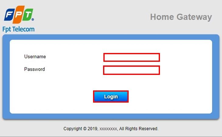 Cách đổi mật khẩu Wifi FPT