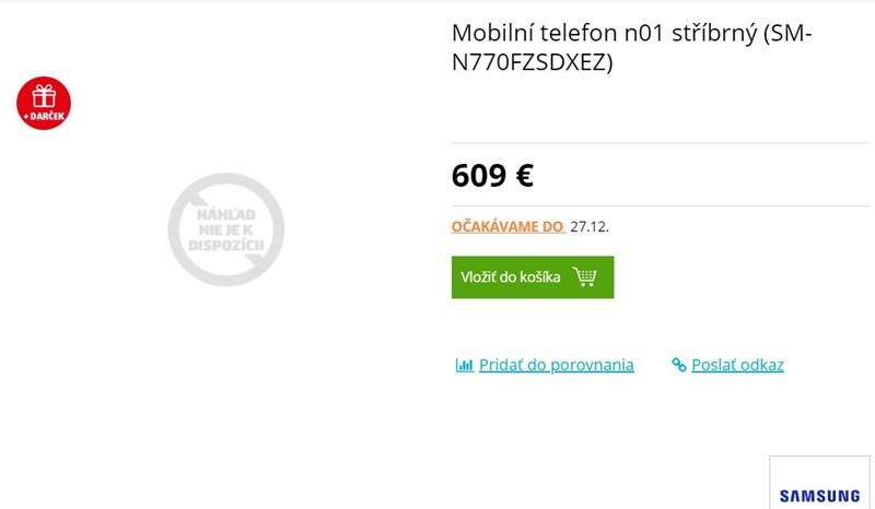 Galaxy Note 10 Lite bị lộ giá bán