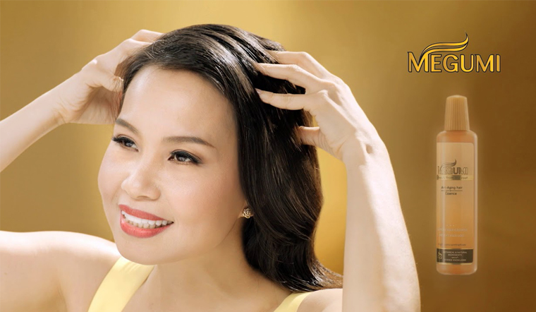Tinh chất dưỡng tóc Megumi, liều thuốc trị rụng tóc hiệu quả