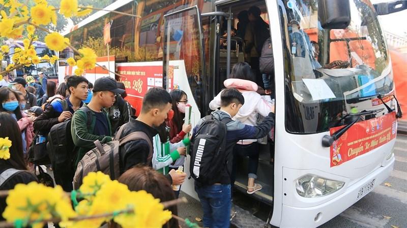 Đăng ký chuyến xe về quê miễn phí dành cho HSSV, người nghèo TP.HCM