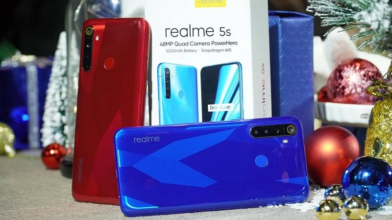 Realme 5s chính thức ra mắt tại Việt Nam, bán độc quyền tại Thế Giới Di Động, giá chưa tới 5 triệu đồng