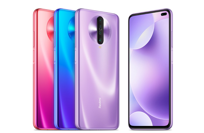 Các màu sắc trên Redmi K30 4G