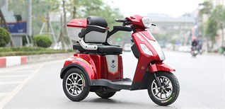 Tìm hiểu về xe điện 3 bánh chở người khuyết tật, người già, trẻ em