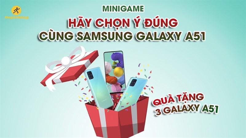Minigame Galaxy A51