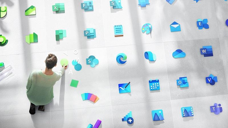 Microsoft đang làm mới logo Windows cùng 100 biểu tượng của ứng dụng khác
