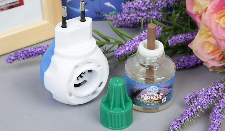 Chẳng cần bình xịt muỗi mà muỗi vẫn bay hết với bộ xông đuổi muỗi Mosfly LV