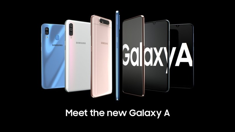 Samsung tung hàng loạt smartphone tầm trung giống nhau, phủ sóng mọi mức giá
