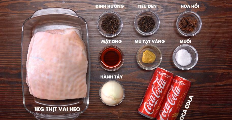 Nguyên liệu món ăn thịt nướng khúc cây