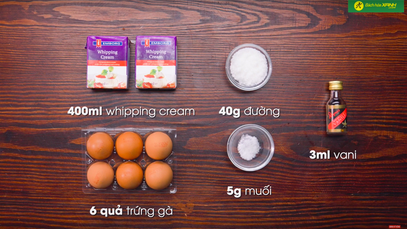 Cách làm Cream Brulee siêu đơn giản tại nhà - Bánh mịn, mướt và thơm