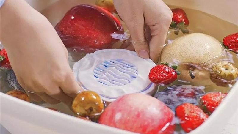 Xiaomi giới thiệu máy rửa hoa quả: Loại bỏ 99.9% vi khuẩn, hơn 90% lượng thuốc trừ sâu